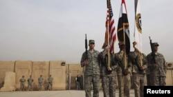 Американские солдаты, покидающие Ирак