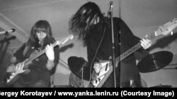 Янка Дягилева, Новосибирск, Академгородок, 5 июня 1989