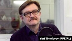 Евгений Киселев в студии Радио Свобода. Февраль 2012 года