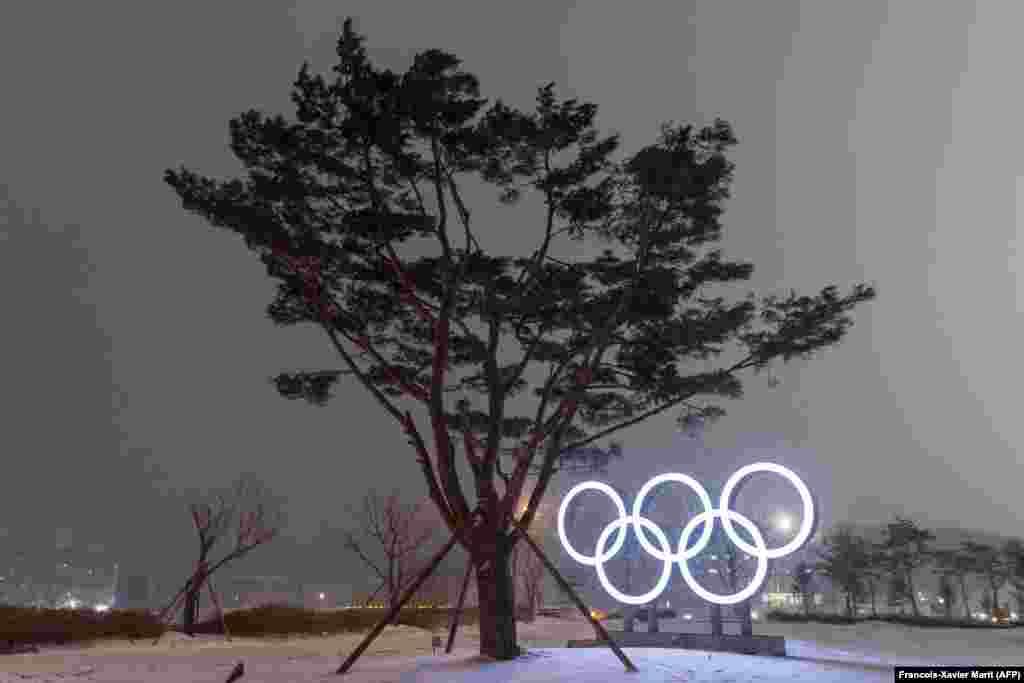 نشان المپیک در پیانگچانگ