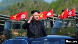 Lideri verikorean, Kim Jon Un.