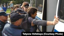 Санкт-Петербург, задержания активистов, 24 августа 2019