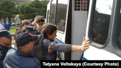 Задержания активистов в Санкт-Петербурге. 24 августа 2019 года.