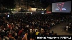 Sa Sarajevo film festivala - ilustracija