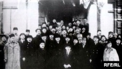 Члены парламента Азербайджана, Баку, 1918 год