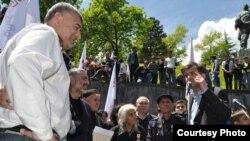 Оппозиционеры говорили о давлении на них со стороны властей (фото ICK)