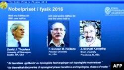 Fizika boýunça Nobel baýragynyň eýeleri kesgitlendi.