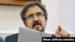 "Iranian Foreign Ministry spokesman Bahram Qasemi also hailed Syria truce talks in Kazakhstan and the fact they were being held by three ""major and regional players"" -- Iran, Russia, and Turkey."