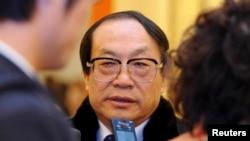 Бывший министр железнодорожного транспорта Китая Лю Чжицзюнь. Пекин, 3 марта 2013 года.