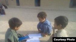 Pakistanda qaçqın uşaqlar, arxiv fotosu
