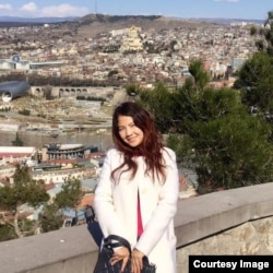 Казашка из Китая Бота Кусаин, студентка 2-го курса магистратуры МГУ.
