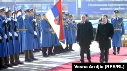 Vjekoslav Bevanda i Ivica Dačić prilikom susreta u Beogradu