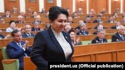 Раиси Сенати Узбекистон Танзила Норбоева.