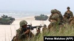 Американські військові під час навчань у Литві, 2018 рік