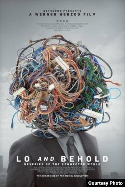 """Werner Herzogun yeni filmi """"İnternet dünyasının xəyalları""""nın afişası."""