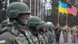 Вояки України і США на полігоні на Львівщині. 20 квітня 2015 року
