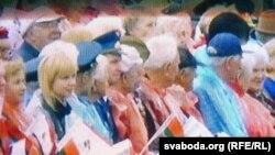 """Одна из акций группы """"Революция через социальные сети"""", Минск, 3 июля 2011"""