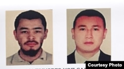 Фото подозреваемых в нападении на кыргызского теолога Кадыра Маликова.