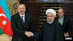 İlham Əliyev və Hassan Rouhani