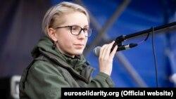 Народний депутат фракції «Європейська солідарність» Яна Зінкевич