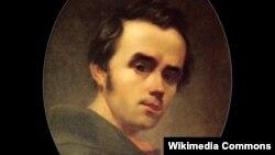 Self-portrait of Taras Shevchenko, 1840