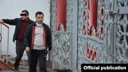 Экс-депутат парламента Кыргызстана Садыр Жапаров.