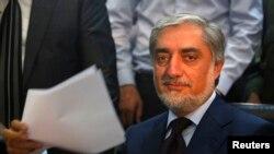 Абдулла Абдулла, бывший министр иностранных дел.
