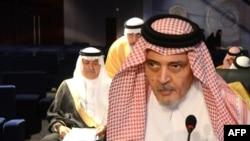 Saud al-Faisal në samitin e Ligës Arabe në Egjipt