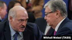 Александр Лукашенко ва Қосимҷомарт Тоқаев