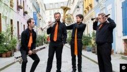 Cvartetul de suflători Les Sourds-Doués