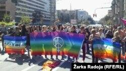 Povorka Parade ponosa