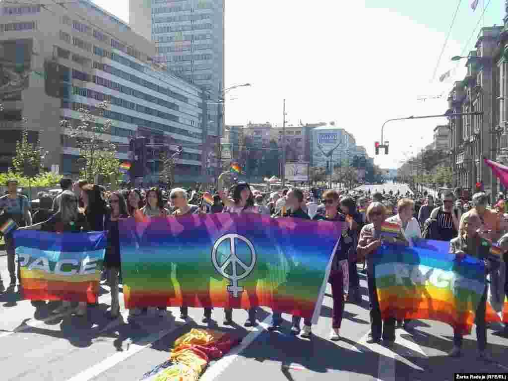 Serbia - Belgrade -Pride Parade 2014