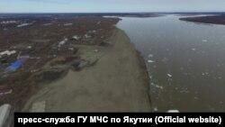 Паводок в Якутии в 2018 году, архивное фото