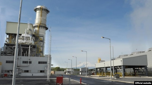 Armenia -- New energy-efficient thermal power plant opened in Yerevan, 21Apr2010