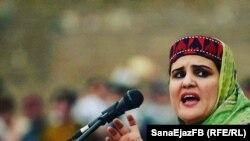 ثنا اعجاز یکی از رهبران جنبش تحفظ پشتون