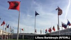 Sediul NATO de la Bruxelles.