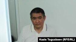 Бизнесмен Искандер Еримбетов в суде по делу в отношении него и группы лиц о «мошенничестве». Алматы, 8 августа 2018 года.