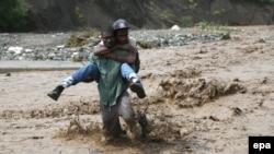 После урагана в Гаити. 5 октября 2016 года.