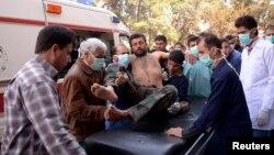 Последствия химатаки возле Алеппо. 19 марта 2013 года