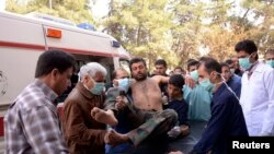 Жртва на хемиски напад во Сирија