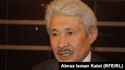 Кыргызский правозащитник Турсынбек Акун. 16 марта 2013 года.