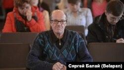 Вячаслаў Бярозка ў час суду