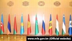 Государственные флаги государств-членов СНГ