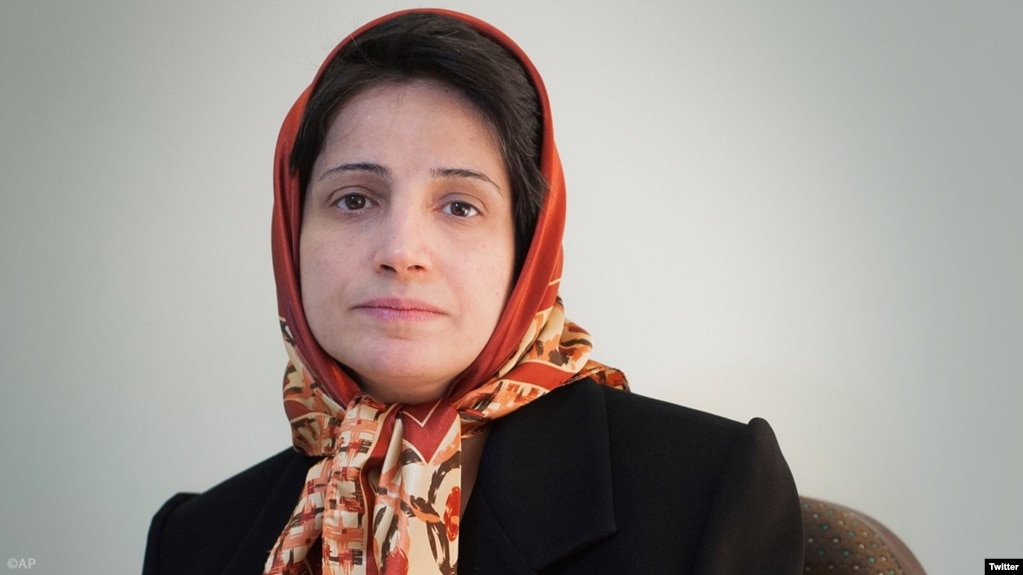 Iranian human rights lawyer Nasrin Sotoudeh