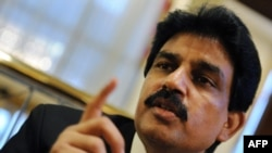 Shahbaz Bhatti was Pakistan's minister for minority affairs. He's pictured here during a visit to Washington in February 2010.