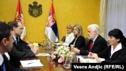 Razgovori MMF-a i Vlade Srbije u oktobru 2010.
