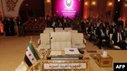 Сириската делегација на Самитот на Арапската лига