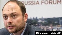 Российский оппозиционер Владимир Кара-Мурза – младший.