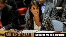 Постійний представник США в ООН Ніккі Гейлі.