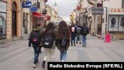 Архивска фотографија: Битола, Широк Сокак